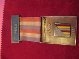 Médaille Pendante/Golf/ 3éme Puesto / Country Club De Bogota/COLOMBIE/1961     SPO257 - Golf