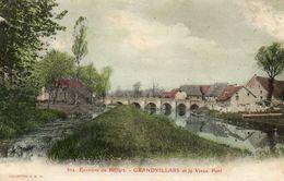 CPA - GRANDVILLARS (90) - Aspect Du Quartier Du Vieux Pont En 1905 - Grandvillars