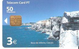Portugal - Phonecard/ Telécarte Telecom Card /  Boca Do Inferno-- 2002 - Portogallo