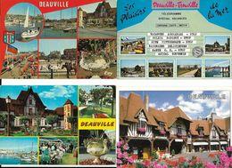 Lot De 16 Cartes DEAUVILLE - Deauville