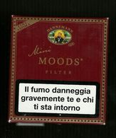 Tabacco Pacchetto Di Sigari Italia - Mini Moods - Tobacco-Tabac-Tabak-Tabac O - Scatola Di Sigari (vuote)