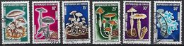 """Congo YT 254 à 259 """" Champignons """" 1970 Oblitéré - Congo - Brazzaville"""