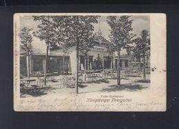 Ostpreussen AK  Königsberger Tiergarten Volks-Restaurant 1902 - Ostpreussen