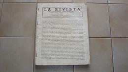RIVISTA SENZA COPERTINA DE LA RIVISTA ILLUSTRATA DEL POPOLO D'ITALIA NUMERO SPECIALE MOSTRA FUTURISMO ECC. BELLA - Guerra 1939-45