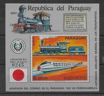 Hoja Bloque De Paraguay Nº Yvert HB-120 (MUESTRA (**). - Paraguay