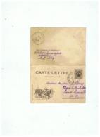 CARTE LETTRE  FM  MILITAIRE GROUPE CYCLISTE  SP 147    14 02 1916 - 1914-18