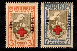 Estonie YT N° 67/68 Neufs *. B/TB. A Saisir! - Estonia