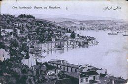 CONSTANTINOPLE    BEYCOS  AU BOSPHORE - Turkey