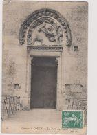 02  Coucy Le Chateau  La Porte Du Donjon - France