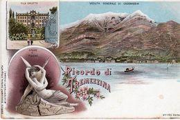 Como - Veduta Generale Di Cadenabbia - Ricordo Di Tremezzina - - Como