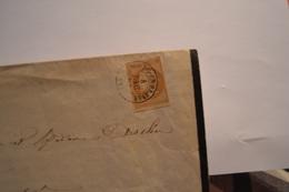 LETTRE DE FAIRE PART DU 4 DEC 62.TIMBRE NIII   N°13A. CACHET A DATE BOURG EN BRESSE 4 DEC 62 1. CACHET MACON5 DEC62 (70) - 1853-1860 Napoleon III