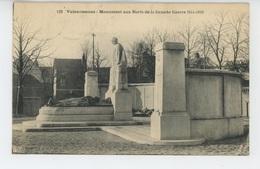 VALENCIENNES - Monument Aux Morts - Valenciennes