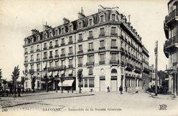 64 BAYONNE - Immeuble De La Société Générale (BANQUE) - Bayonne
