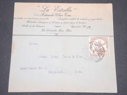 MEXIQUE - Enveloppe Commerciale ( Retaillée à Droite ) De La Colorada Pour Nogales - L 13300 - México