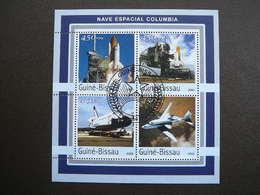 Columbia. Space. Raumfahrt. Espace # Guinea-Bissau # 2003 Used S/s # - Space