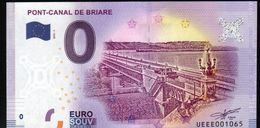 France - Billet Touristique 0 Euro 2018 N°1065 (UEEE001065/5000) - PONT-CANAL DE BRIARE - EURO