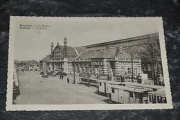 576   MECHELEN - MALINES - De Statie - La Gare  Tram Tren Train  1951 - Malines