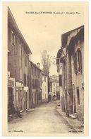 Cpa Barre Des Cévennes - Grande Rue - France