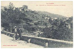 Cpa Vallée Du Tarnon Et Château De Vébron - France