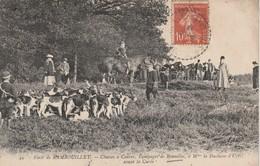 78 - BONNELLES - Forêt De Rambouillet - Chasses à Courre,Equipages De Bonnelles à Mme La Duchesse D' Uzès Avant La Curée - Francia