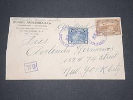 SALVADOR - Enveloppe Commerciale De San Salvador Pour New York - L 13305 - El Salvador