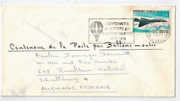 """"""" CENTENAIRE DE LA POSTE PAR BALLONS MONTES """" 1971 - Luchtpost"""
