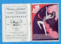Programme-PARIS- -théatre  CLUNY--16 Pages Photos Et Publicités-couverture Illustrée Pietri - Programs