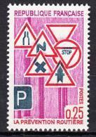 FRANCE  - 1968 - Yvert  1548 ** - Prévention Routière - France