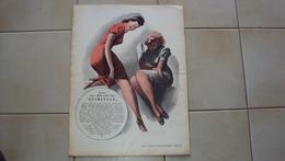 ITALIA RIVISTA D'EPOCA TITOLO TEMPO NR. 35 DEL 1940 CON RETRO BELLA ILLUSTRAZIONE DI BOCCASILE CALZE MILLEAGHI QUIRINALE - Books, Magazines, Comics