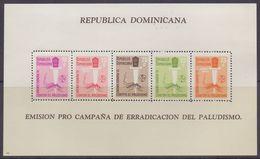 DOMINICANA :1962: Y.BF25 Dentelled & Not Dentelled/neufs/MNH :## MALARIA ERADICATION CAMPAIGN 1962 ##: PALUDISME,HEALTH, - Dominicaine (République)