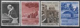 1964 VATICAN 393-96** Voyages Pape Paul VI - Ungebraucht
