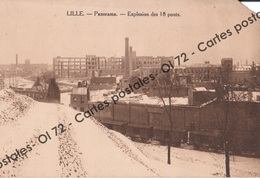 CPA - Nord - Lille - Panorama Explosion Des 18 Ponts - Lille