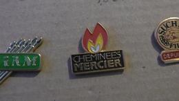 CHEMINEES MERCIER - Pin's