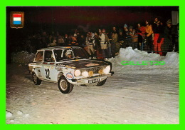 SPORTS AUTOMOBILES - SERIE AUTOMOBILES RALLYE No 7 - DAF 66, 1148 C.C. 850KF - - Rallyes