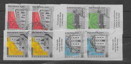 2 Series De Suiza Nº Yvert 1678/81 (o). - Switzerland