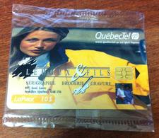 CANADA QUÉBEC CARTE TÉLÉPHONIQUE LAPUCE QUÉBECTEL LEHOUX & FILS PHONECARD NEUVE CARD 10$ POUR COLLECTION - Canada
