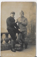 2 CPA  Carte  Photo 1914 1918 - Weltkrieg 1914-18