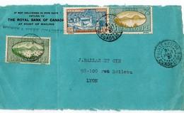 Lettre De Pointe- A- Pitre Pour Lyon  1937 - Storia Postale