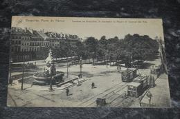 583  Bruxelles  Brussel Porte De Namur   Tram - Belgien
