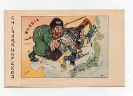 CPA Chromo Laas-Pécaud Illustrateur Ogé Publicité China-China à Voiron Guerre Russo-Japonaise Russie Japon TBE - Illustrateurs & Photographes