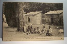 TOULOUSE     -         EXPOSITION DE TOULOUSE 1908  - Village  Noir - Groupe D'Enfants Sénégalais - Toulouse