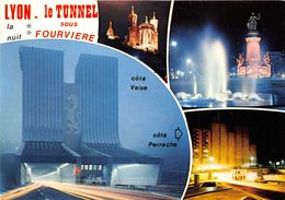 Lyon 9 La Duchère Vaise Tunnel Sous Fourvière - Lyon 9