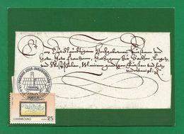 Luxemburg  1998  Mi.Nr. 1447 , Lettre Expediee De Luxembourg - Maximum Card - Prmmier Jour Inauguration 18.6.98 - Cartes Maximum