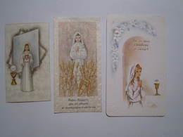 3 IMAGES RELIGIEUSES SAINT DIZIER DUCHENE 1968 GIRAUD 1967 PIERROT 1989 - Images Religieuses