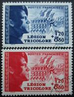 FRANCE N°565 Et 566 Oblitérés - Timbres