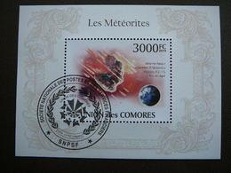 Meteorites. Space. Raumfahrt. Espace # Comoros # 2010 Used S/s # - Space