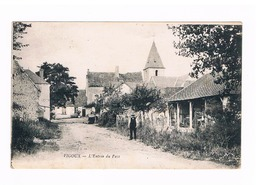 VIGOUX-l'entrée Du Pays - France