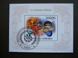Solaris (operating System). Space. Raumfahrt. Espace # Comoros # 2010 Used S/s # - Space