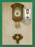 """Luxemburg  1998  Mi.Nr. 1426 , Horologe De Type """" Kappauer """" - Maximum Card - Briefmarken-Messe Essen 7.- 9.5.98 - Maximumkarten"""