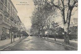 Menton. Avenue De La Gare. - Menton